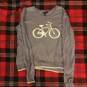 Blue Bicycle Sweater from Gap
